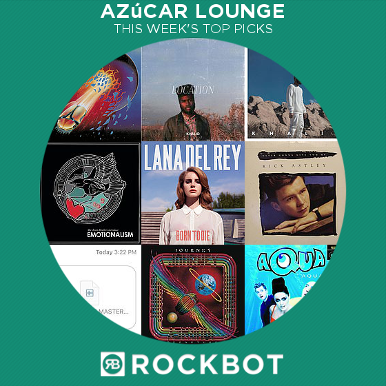 Top Rockbot Song Picks at Azúcar Lounge