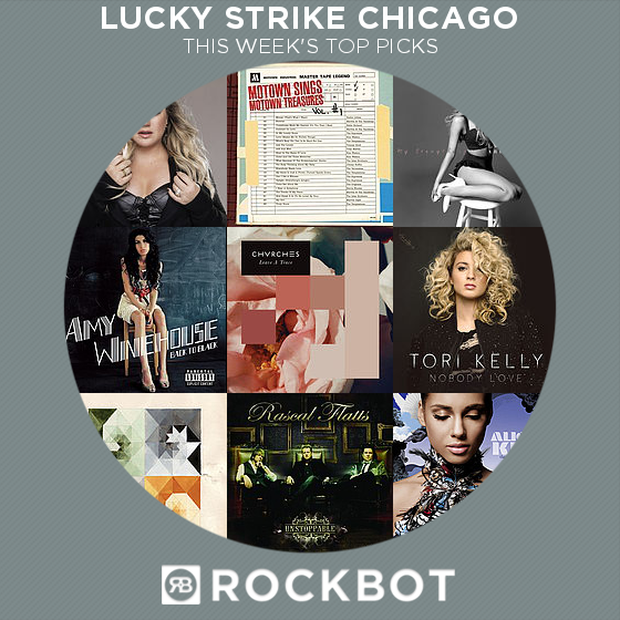 Top Rockbot Song Picks at Lucky Strike Chicago