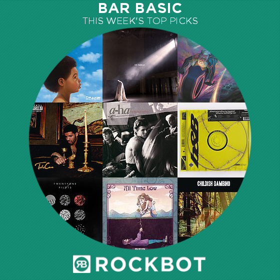 Top Rockbot Song Picks at Bar Basic